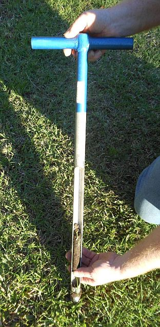 Soil test probe